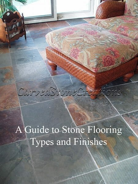 a guide to stone tile types and finishes