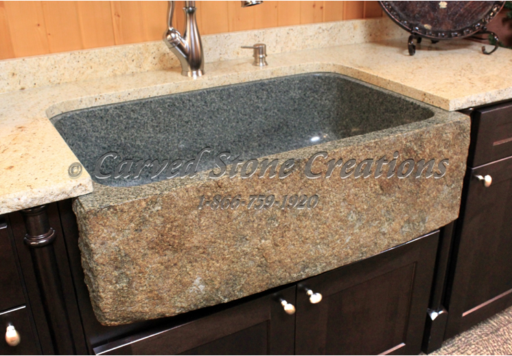 Top 5 Reasons to Install a Granite Kitchen Sink|Carved Stone ...
