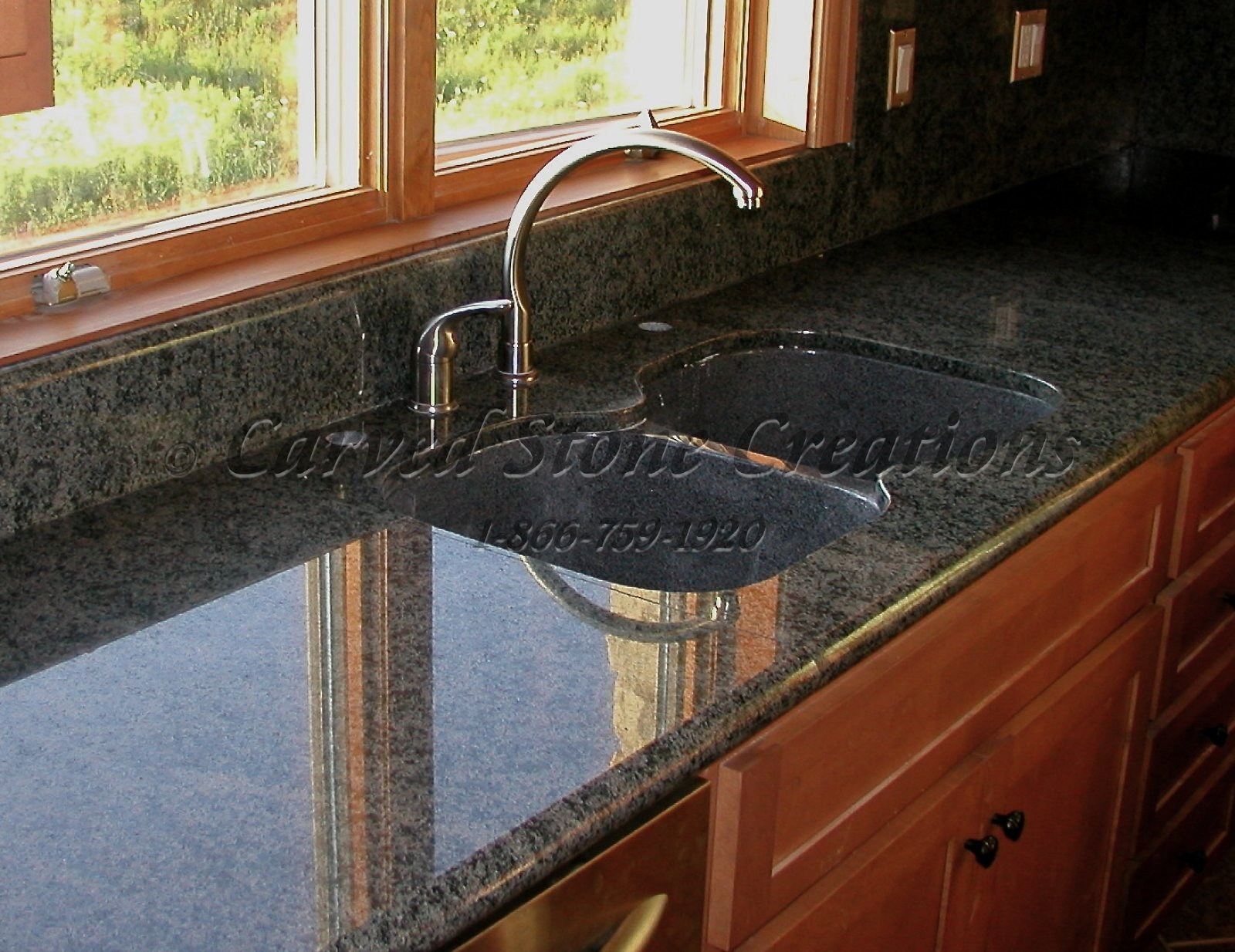 Stone Kitchen Sinks Undermount Kitchen Design Ideas