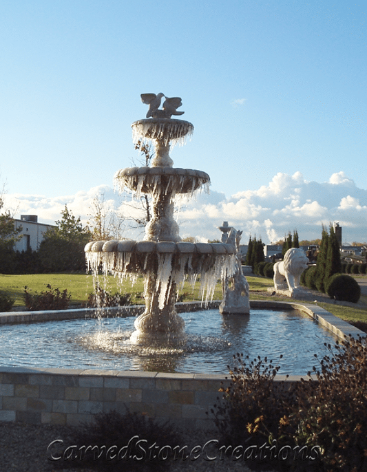 Stone Fountain for spring