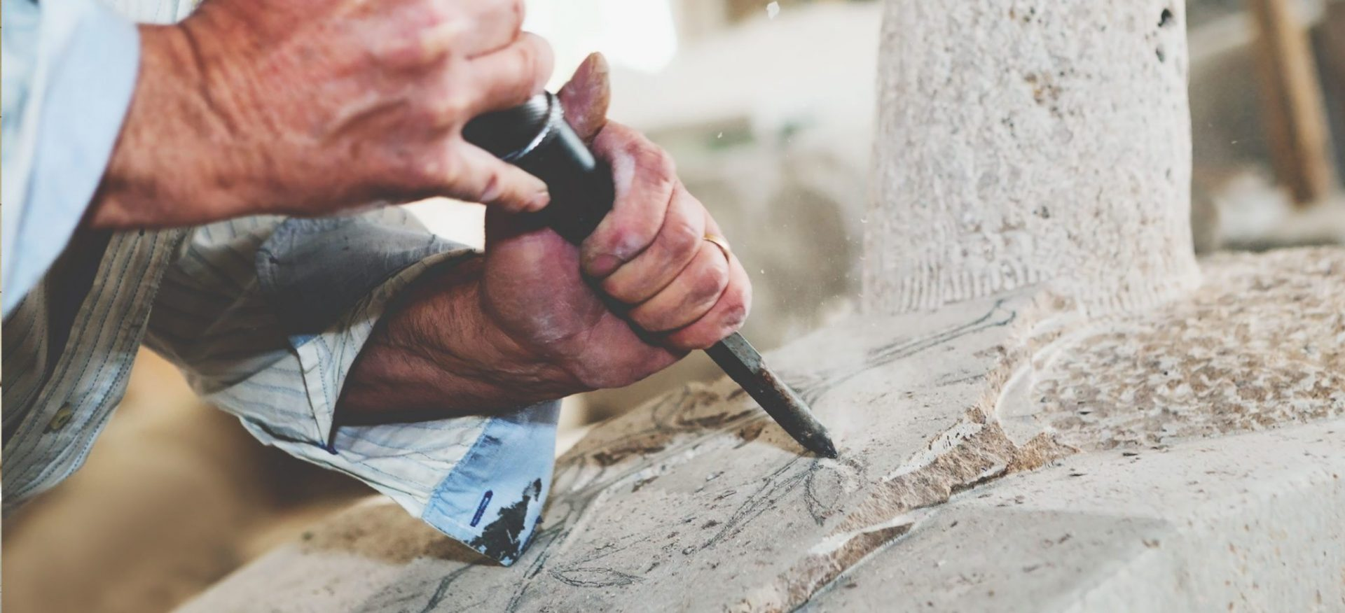 artisan stone sculptor