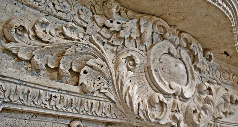 Carved stone architecture custom architectural