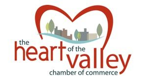 The Heart of the Valley Chamber of Commerce logo