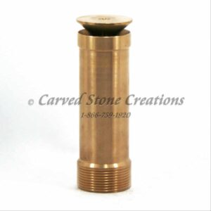 "1-1/2"" Brass Bell Morning Glory Nozzle"