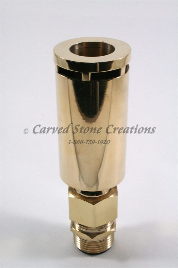 "1"" Brass Aerated Nozzle"
