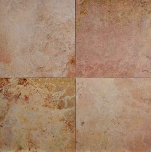 Peach Travertine HF 12x12