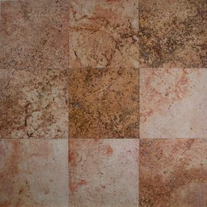 Red Travertine HF 12x12