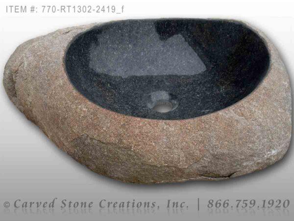 770-RT1302-2419 Natural Boulder Sink