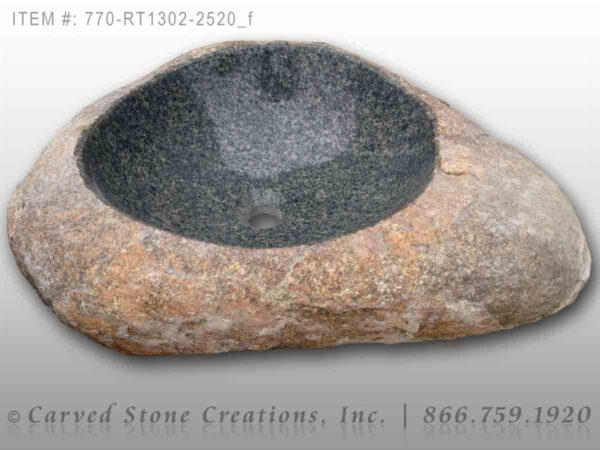 770-RT1302-2520 Natural Boulder Sink