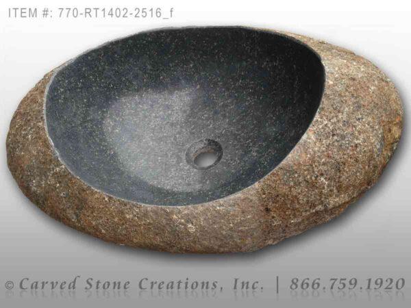 770-RT1402-2516 Natural Boulder Sink