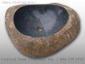 770-RT1402-2518 Natural Boulder Sink