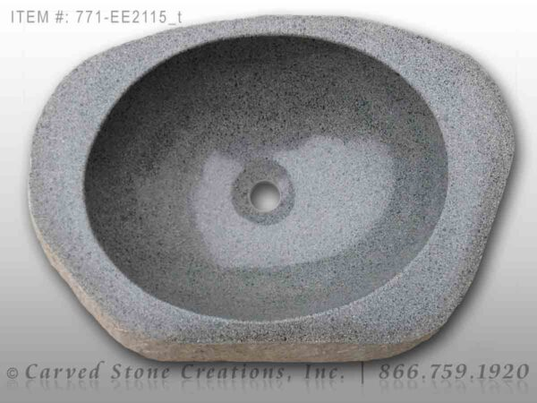 771-EE2115 - Natural Boulder Sink