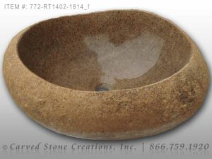 772-RT1402-1814 - Natural Boulder Rock Sink
