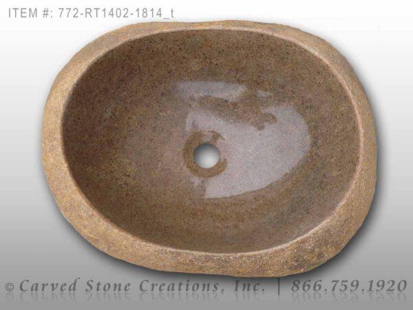 772-RT1402-1814 - Natural Boulder Rock Sink