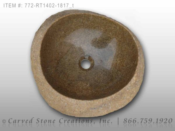 772-RT1402-1817 - Natural Boulder Rock Sink
