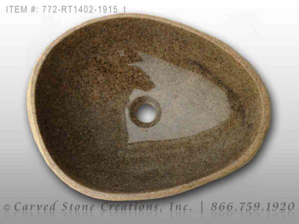 772-RT1402-1915 - Natural Boulder Rock Sink
