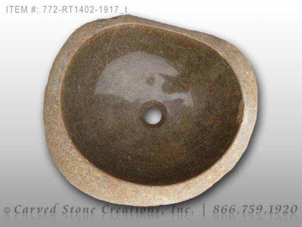 772-RT1402-1917 - Natural Boulder Rock Sink