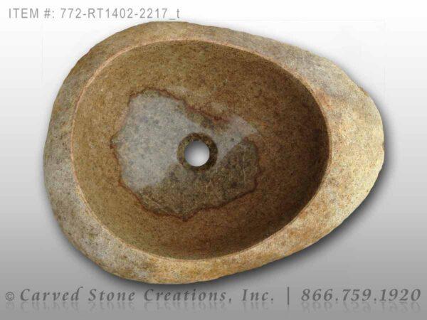772-RT1402-2217 - Natural Boulder Rock Sink