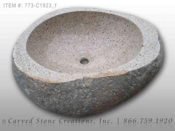 773-C1923 Natural Boulder Sink