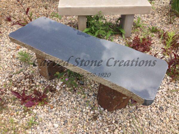 Basalt Garden Bench