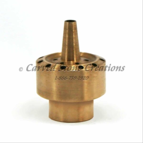 Fixed Blossom Fireworks Brass Nozzle