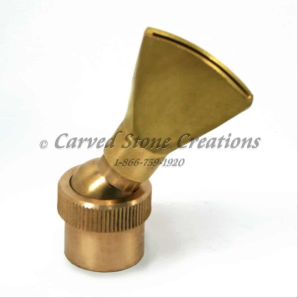 "3/4"" Adjustable Brass Fan Nozzle"
