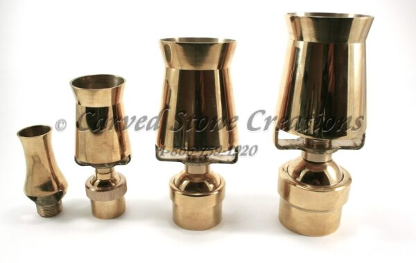 Brass Serac Frothy Fountain Nozzles
