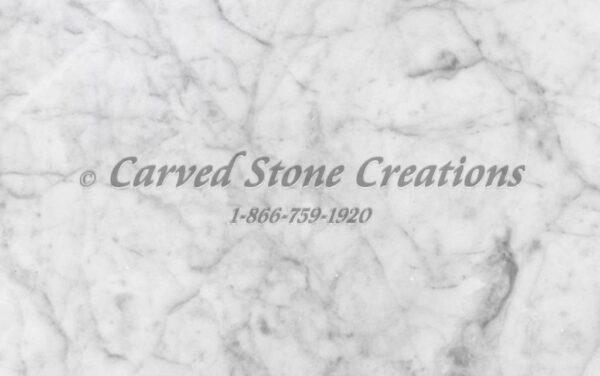 Carrara White Marble Sample