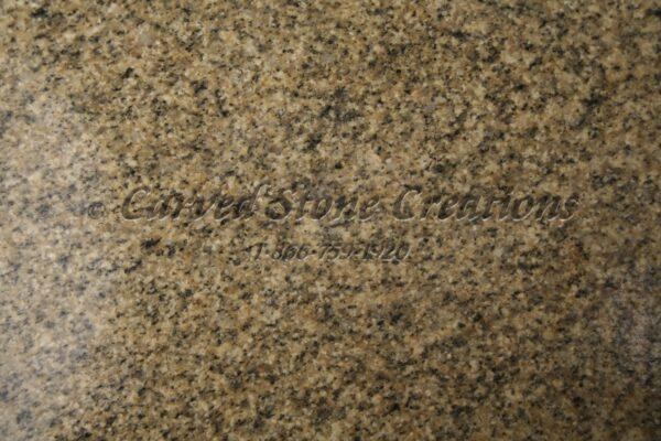 Golden Sesame Granite Sample