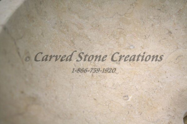 New Crema Marfil Light Limestone Sample
