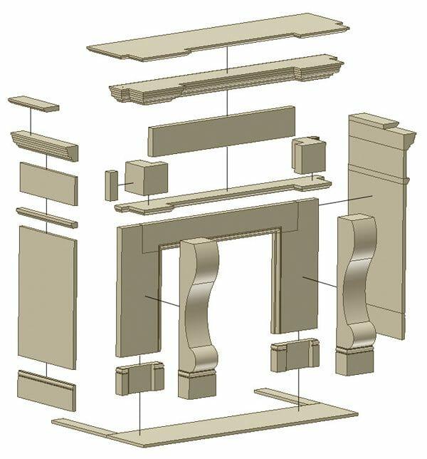 stone fireplace design 2