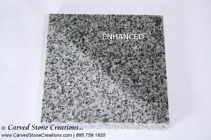 Light Charcoal Grey Granite Sample