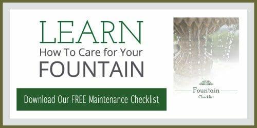 Fountain Maintenance Checklist