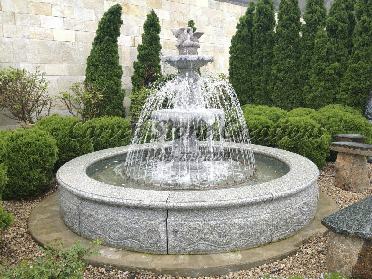 Create Captivating Curb Appeal with Granite Fountains