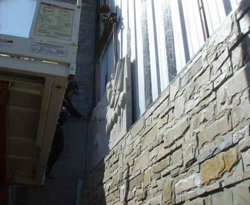 Wall Relief Sculpture Installation 3
