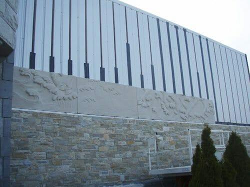 Wall Relief Sculpture Installation 5