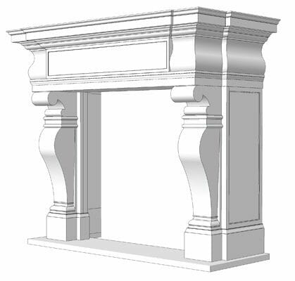 Natural Stone Fireplace Installation Stone Fireplace Installation 2