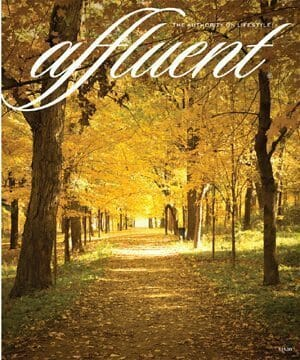 Cover Image for Affluent Magazine