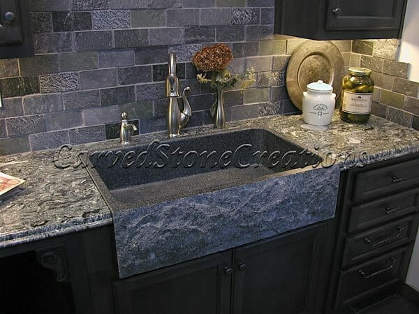 Natural Stone Vessel Sinks and Kitchen Sinks for Your Home - CSC
