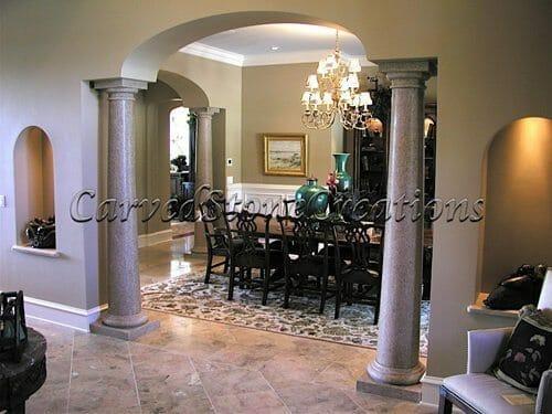 Interior Stone Columns 2