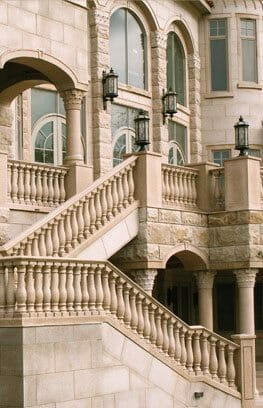 Granite Balustrade - Stone Stairs - Stone Veneer