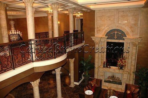 Interior Stone Columns 1