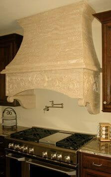 Stone Kitchen Hood