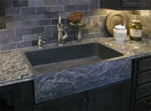 Charcoal Grey Granite Kitchen Sink