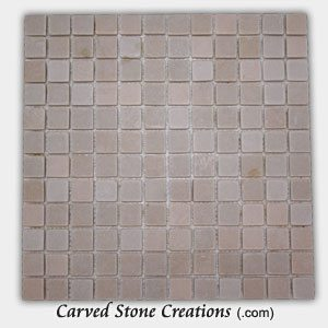 Tahitian Pearl Quartzite 1 Classic Squares Mosaic Tiles