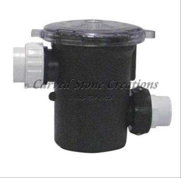 Priming Pot / Leaf Trap / Strainer Basket for External Pumps. 2