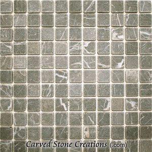 Trilob Brown Marble 1 Tumbled Mosaic Tiles