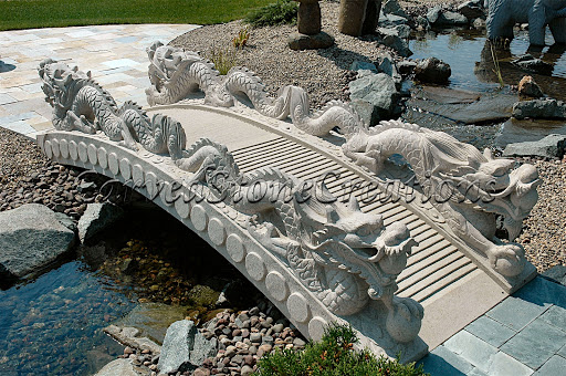 Dragon stone bridge