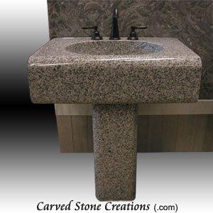 Simplicity Bianco Catalina Pedestal Sink