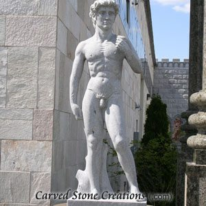 Michaelangelo David, Fine Temple Grey